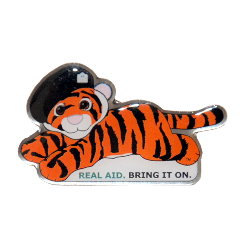 Tiger Tim Lapel Pin Badge